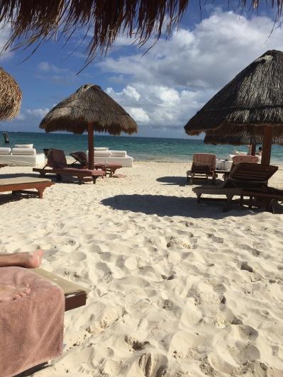 Our daily beach spot