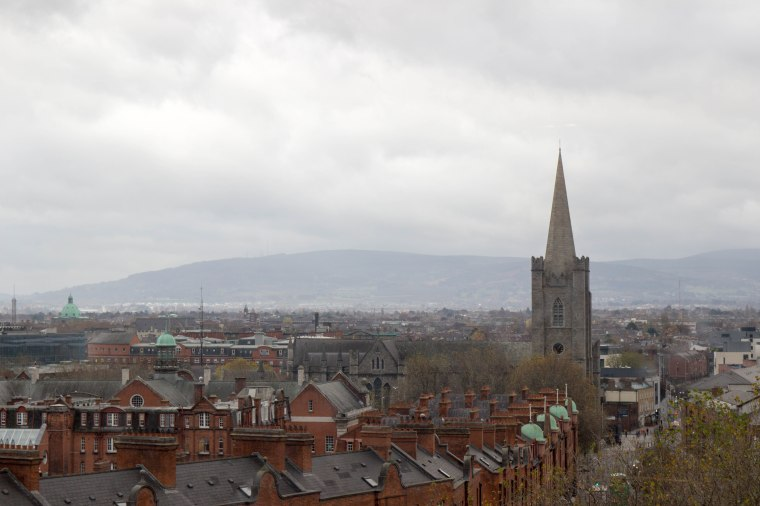View from Dublinia